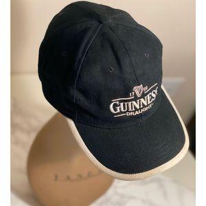 Guinness Draft Beer Zip Back adjustable Cap Hat
